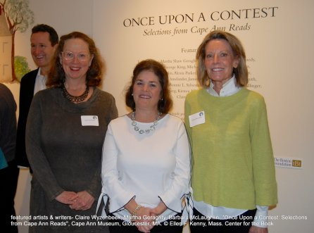 once upon a contest selection from cape ann reads_exhibition at cape ann museum_jan 5 2019_ all photos © ellen f kenny _mass center for the book (27)