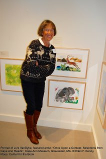 once upon a contest selection from cape ann reads_exhibition at cape ann museum_jan 5 2019_ all photos © ellen f kenny _mass center for the book (29)