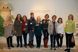 once upon a contest selection from cape ann reads_exhibition at cape ann museum_jan 5 2019_ all photos © ellen f kenny _mass center for the book (32)