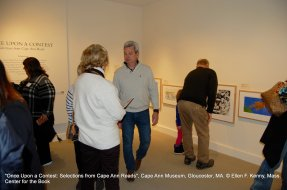 once upon a contest selection from cape ann reads_exhibition at cape ann museum_jan 5 2019_ all photos © ellen f kenny _mass center for the book (4)