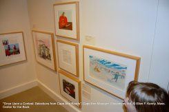 once upon a contest selection from cape ann reads_exhibition at cape ann museum_jan 5 2019_ all photos © ellen f kenny _mass center for the book (6)