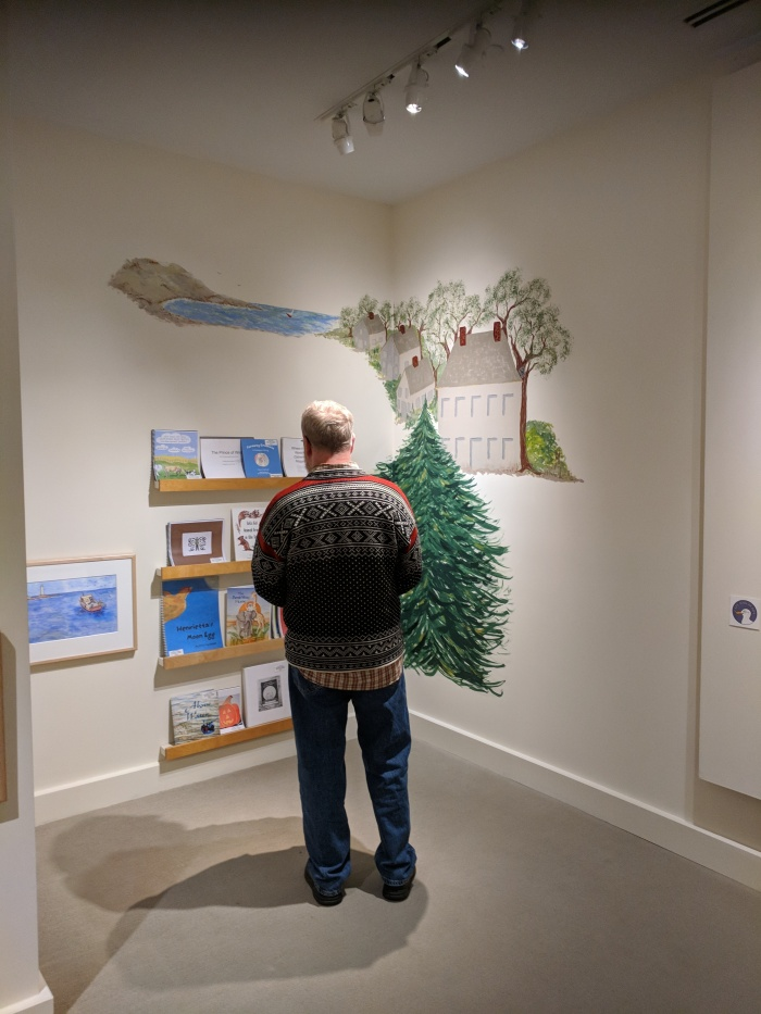 walking to a world of new books at cape ann museum_once upon a contest_20181222_©catherine ryan