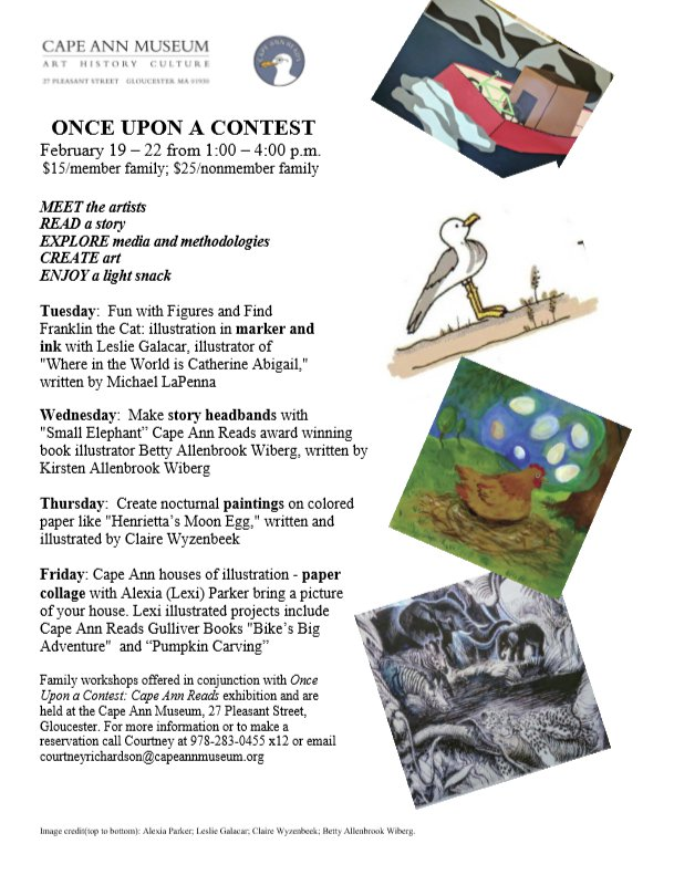 Cape Ann Museum February school vacation 2019 special Once Upon a Contest Cape Ann Reads programming.jpg