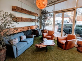 GATHR work_ inviting modern warm design for new coworking office space Ipswich Mass_ winter 2019_© catherine ryan (10)