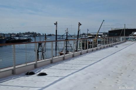 Gloucester Marine Genomics Institite deck second floor copyright Kim Smith