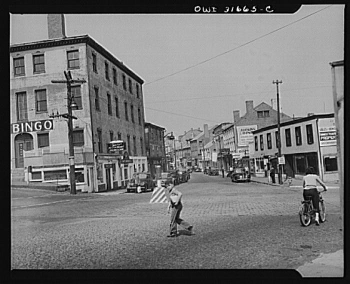 Main St 1943