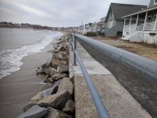 rip rap piles and leaning seawall_20190203_Long Beach seawall ©catherine ryan