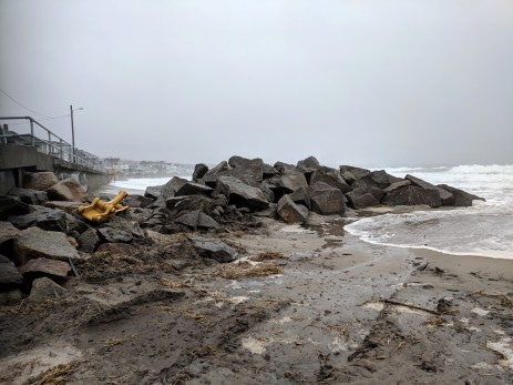 rip rap staging for seawall repair_winter surf_20190224_Long Beach Gloucester Rockport Mass © catherine ryan (3)