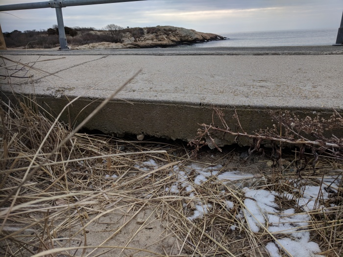 separation_20190203_ Long Beach walkway Gloucester Rockport Mass© catherine ryan