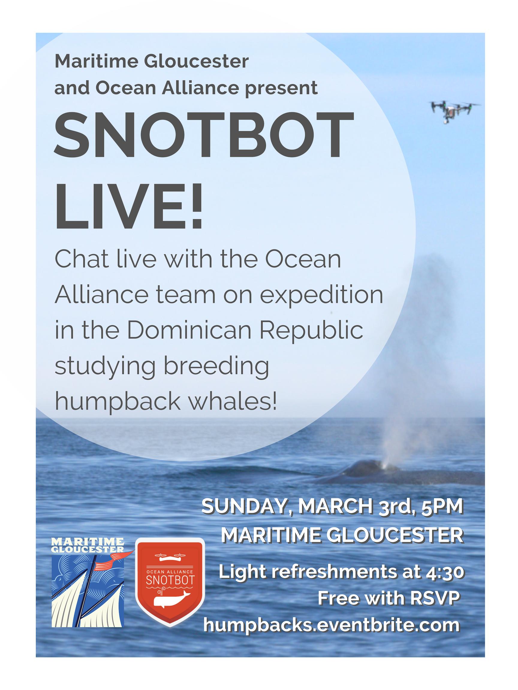 SnotBot Live Poster