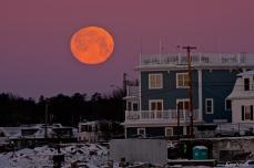 Super Snow Moon Fort Gloucester copyright Kim Smith - 06