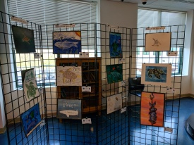 2018 endangered species art contest 2018 NOAA headquarters Gloucester Mass_20180507_© catherine ryan (12)