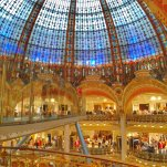 Skywalk At Galeries Lafayette