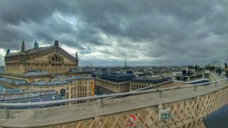 View From Atop Galeries Lafayette