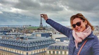 Kate has Paris in her fingertips