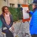 Kate's Portrait-Montmartre