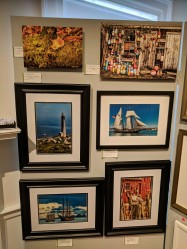 artist Gary Linder panel_Cape Ann Through Artists' Eyes 2019 Manchester Historical Museum group show_20190306_©catherine ryan