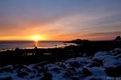Brace Cove sunrise Gloucester Massachusetts copyright Kim Smith