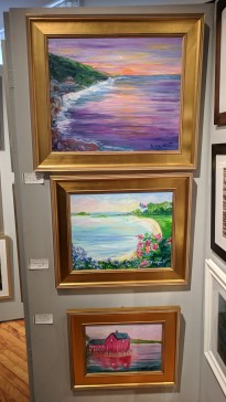 Faulkner artist panel_Cape Ann Through Artists' Eyes 2019 Manchester Historical Museum group show_20190306_©catherine ryan