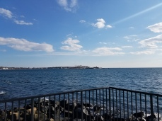 from Fort playground_20190311_courtesy photo looking across to Ten Pound Island was one time former location of the Coast Guard Aviation station (1)