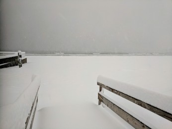 GOOD HARBOR BEACH snow storm March 4 2019 about a foot of snow Gloucester massachusetts _20190304_© catherine ryan (14)