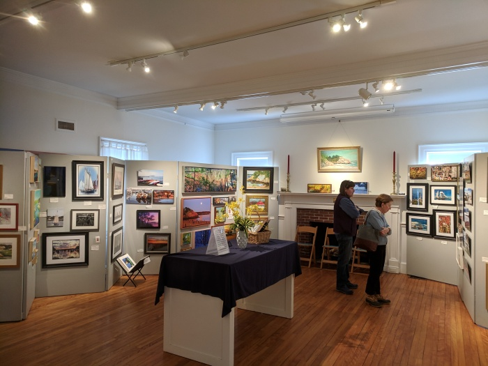 INSTALLATION VIEW_Cape Ann Through Artists' Eyes 2019 Manchester Historical Museum group show_20190306_©catherine ryan (2).jpg