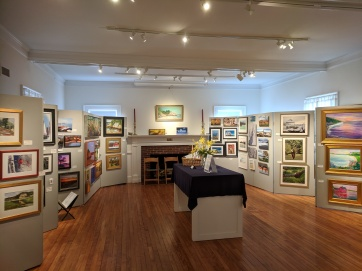 INSTALLATION VIEW_Cape Ann Through Artists' Eyes 2019 Manchester Historical Museum group show_20190306_©catherine ryan