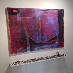 Loren Doucette art_Rocky Neck Cultural Center group show_20190324_© catherien ryan (30)