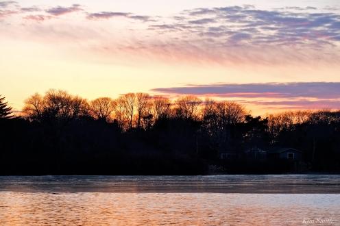 Niles Pond sunset copyright Kim Smith