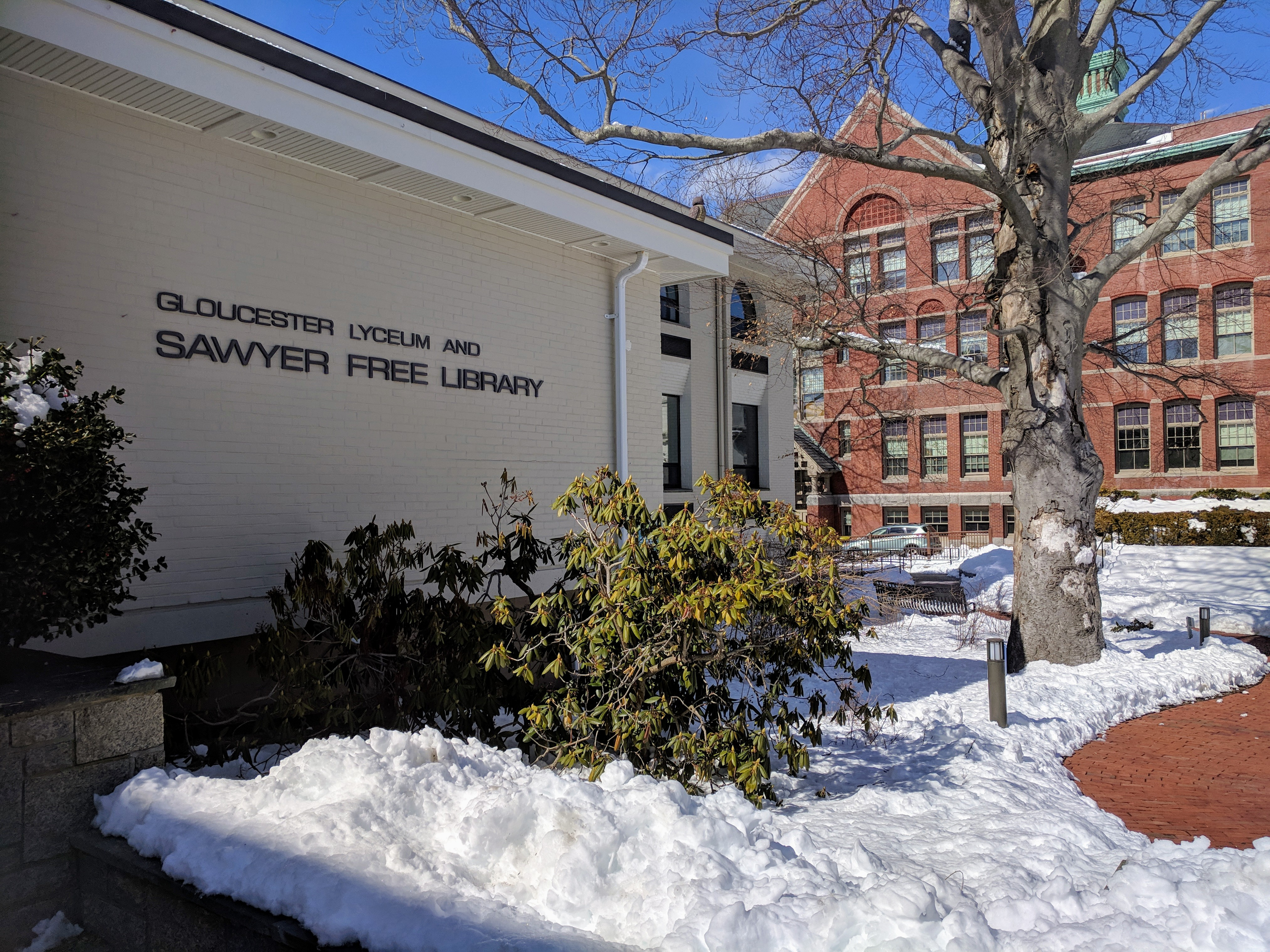 Sawyer Free Library Gloucester Massachusetts_20190306_© catherine ryan