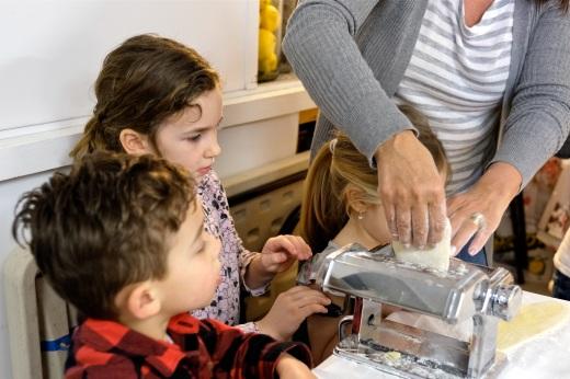 St. Joseph Pasa Making w Kids Groppos copyright Kim Smith - 06
