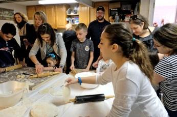 St. Joseph Pasa Making w Kids Groppos copyright Kim Smith - 10