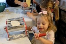 St. Joseph Pasa Making w Kids Groppos copyright Kim Smith - 14
