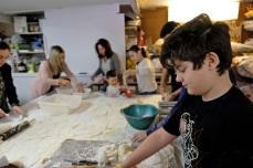 St. Joseph Pasa Making w Kids Groppos copyright Kim Smith - 30