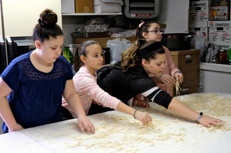 St. Joseph Pasa Making w Kids Groppos copyright Kim Smith - 31