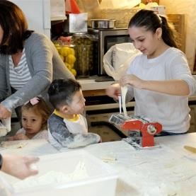 St. Joseph Pasa Making w Kids Groppos copyright Kim Smith - 36