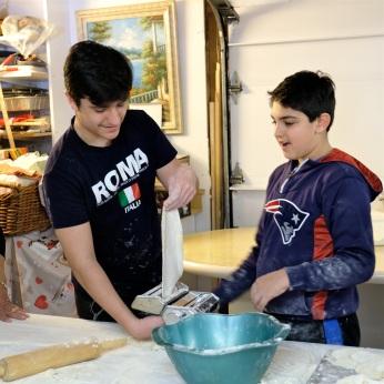 St. Joseph Pasa Making w Kids Groppos copyright Kim Smith - 39