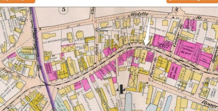 YMCA 1899 map