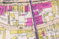 detail from 1899 Stadley Map