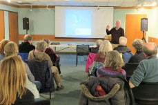 CHRIS LEAHY 2019 talk_11 April 2019_at Sawyer Free Library Gloucester MA _Essex county islands and birds_photo copyright Linda Bosselman ( (9)