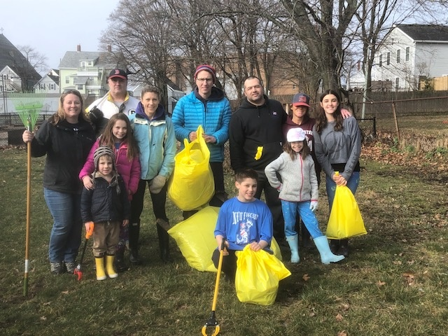 clean up april 2019 group