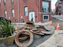 Duncan Street Construction Gloucester MA DPW_20180914_© c ryan (2)