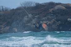 Kitesurfing Good Harbor Beach Gloucester copyright Kim Smith - 08