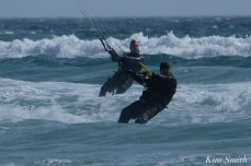 Kitesurfing Good Harbor Beach Gloucester copyright Kim Smith - 13