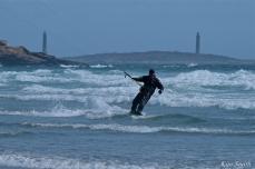 Kitesurfing Good Harbor Beach Gloucester copyright Kim Smith - 15
