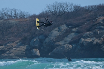 Kitesurfing Good Harbor Beach Gloucester copyright Kim Smith - 19