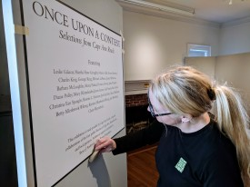 preparing to install Once Upon a Contest at Manchester Historical Museum_opens April 6 2019 © c ryan (3)