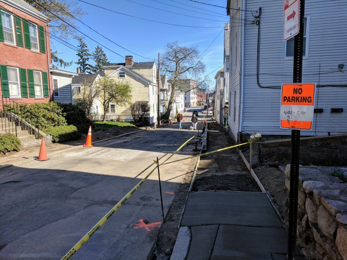 School street ADA sidewalks DPW construction_Gloucester MA_20190425_© c ryan (3)