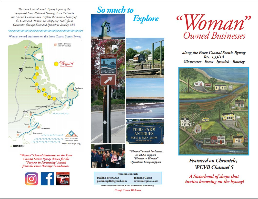 snapshot of 2019 trifold brochure front Woman Owned Businesses.jpg