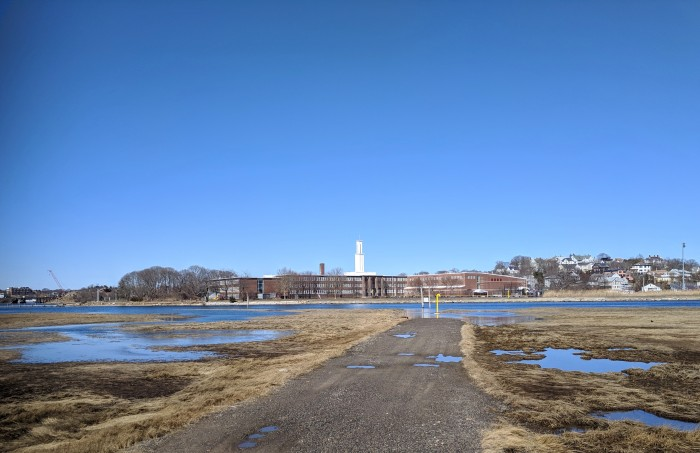 view across to GHS Gloucester Ma_20190325_© catherine ryan